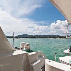 Sailing & Racing Catamaran stern deck