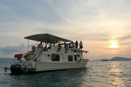 Coastal Cruiser on a Sunset Cruise