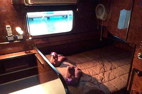Coastal Cruiser double deluxe cabin