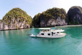 Coastal Cruiser in Phang Nga Bay