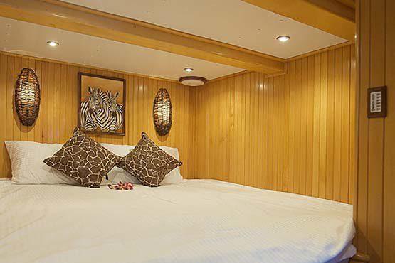 Luxury Sailing & Motor Catamaran double or twin cabin