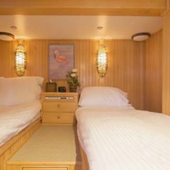 Luxury Sailing & Motor Catamaran double or twin cabin