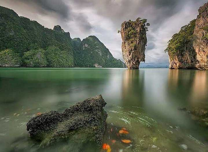 James Bond Island in the early evening