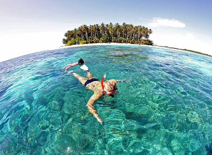 Snorkeling off Phuket
