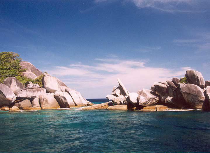 Racha Noi Rock Outcrop