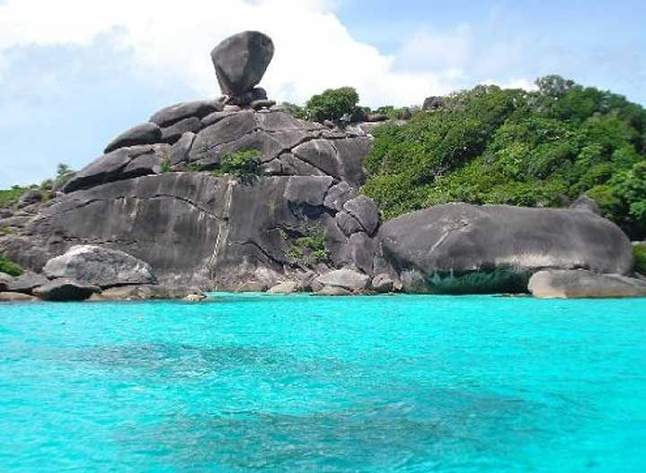 Similan Islands - Strange Rock Formations